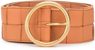 Bottega Veneta Maxi Woven Leather Belt