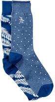Original Penguin Spring Forward Socks - Pack of 2