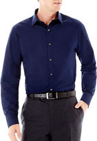 Claiborne Long-Sleeve Solid Button-Front Shirt