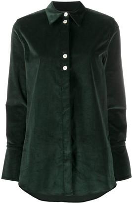 Victoria Victoria Beckham Contrast Button Shirt