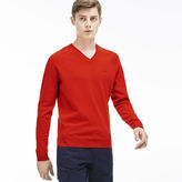 Lacoste Men's Cashmere V-neck Sweater
