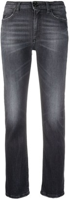Dondup Stonewashed Slim-Fit Jeans