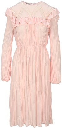 Philosophy di Lorenzo Serafini Philosophy Pleated Midi Dress