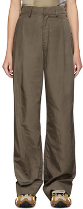 Serapis Taupe Worker Trousers