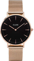 Cluse LA BOHÃME MESH ROSE GOLD-BLACK