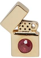 Marc Jacobs Gold Lighter Earring
