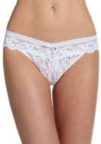 Hanky Panky Annabelle Original-Rise Lace Bridal Thong