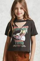 Forever 21 Girls Midnight Vibes Tee (Kids)