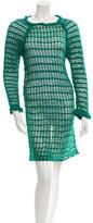 Etoile Isabel Marant Crocheted Knee-Length Dress