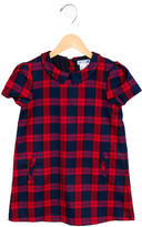 Jacadi Girls' Plaid Shift Dress