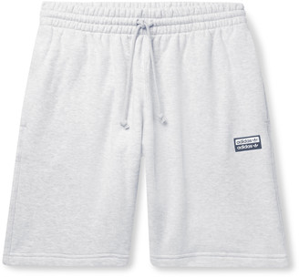 adidas Melange Loopback Cotton-Jersey Drawstring Shorts