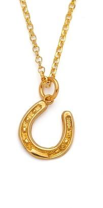Harry Rocks Gold Horseshoe Necklace