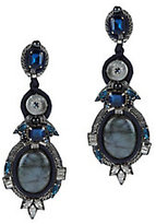 Ranjana Khan Labradorite Drop Earrings