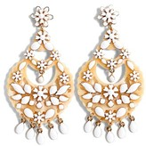J.Crew Women's Floral Chandelier Earrings