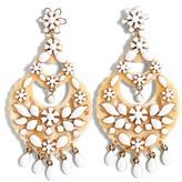 J.Crew Women's Floral Chandelier Earrings