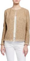 Lafayette 148 New York Copping Botanical Tweed Jacket