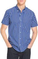 Izod Short-Sleeve Poplin Woven Shirt