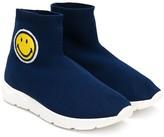 Joshua Sanders Kids smiley sock sneakers