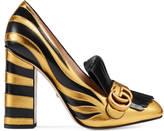 Gucci Zebra pump