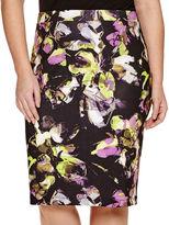 Liz Claiborne Slim Scuba Pencil Skirt - Plus