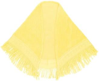 Balmain Pre-Owned fringed shawl