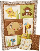 NoJo Little Bedding by Jungle Dreams 3 Piece Crib Bedding Set