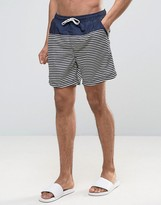 Selected Swim Shorts in Gingham