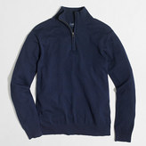J.Crew Factory Tall harbor cotton half-zip sweater