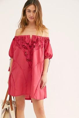 Free People Sunbeat Mini Dress