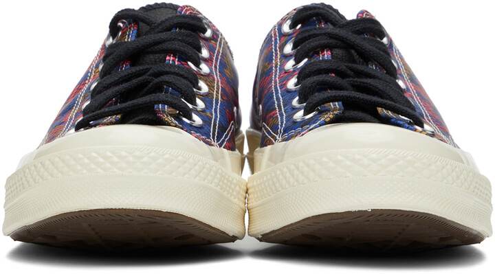 Thumbnail for your product : Converse Blue & Pink Digital Daze Chuck 70 Sneakers