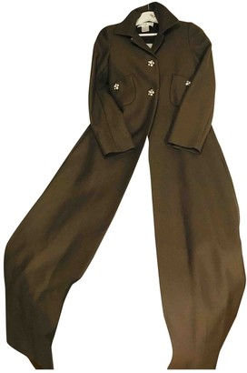Paul & Joe Khaki Cotton Coat for Women
