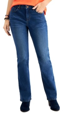 Style&Co. Style & Co Mid-Rise Curvy Bootcut Jeans, Created for Macy's