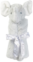 Quiltex Plush Grey Elephant Security Blanket