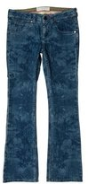 Stella McCartney Low-Rise Printed Jeans w/ Tags