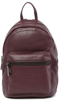 Frye Lena Leather Zip Backpack