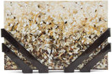 Nathalie Trad Ombre Shell Resin Kent Clutch