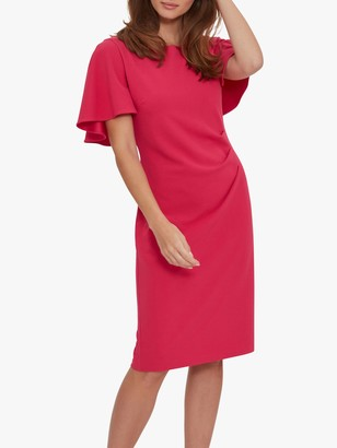 Gina Bacconi Chana Cape Backed Dress