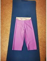 Blumarine Purple Shorts for Women