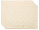 Ann Gish Linen Quilted Placemats (Set of 4)
