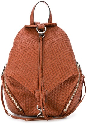 Rebecca Minkoff Julian textured leather backpack