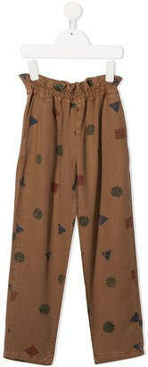 Bobo Choses High-Waisted Pull-On Trousers