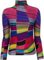 Issey Miyake pleated jumper