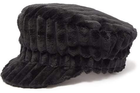 75e746fb2 Evie Fleece Baker Boy Hat - Womens - Black