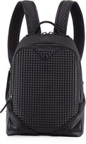 MCM Duke Tantris Quilted Backpack, Black