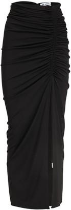 ATTICO Viscose Crepe Jersey Long Skirt
