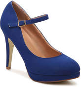 Journee Collection Shelby Platform Pump - Women's