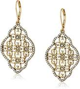 lonna & lilly Tone Filigree Chand Drop Earrings