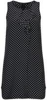 Marc by Marc Jacobs Women's Vivie Print Silk Dress Navy