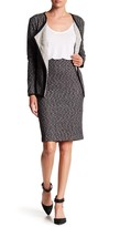 Joe Fresh Mix Ponte Knit Skirt