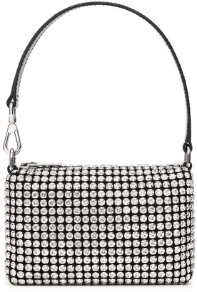Alexander Wang Wangloc Crystal-Embellished Mini Top Handle Bag